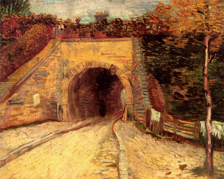 Header 2 Tunnel Vincent Van Gogh