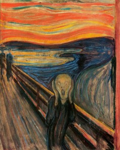 The Scream by Edvard Mauch